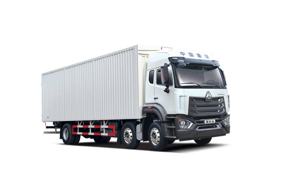 中國重汽豪沃 N6×2輕奢版載貨車