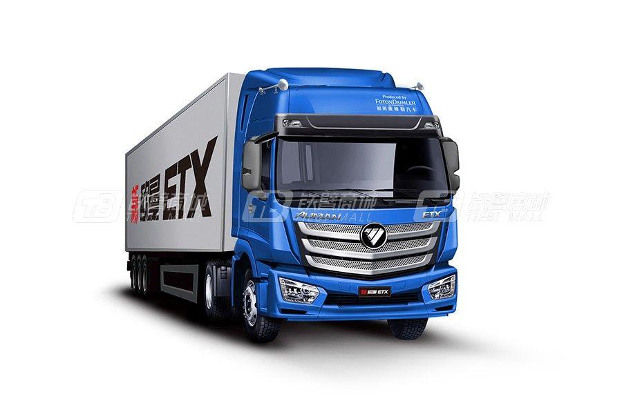 福田戴姆勒欧曼ETX 4x2 360马力 港口牵引车