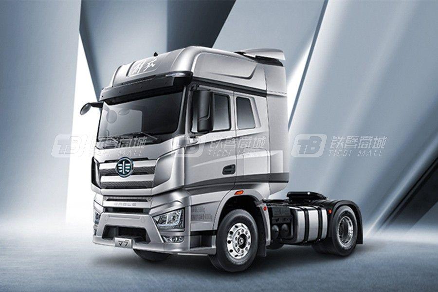 一汽解放J7 4×2 牵引车豪华型牵引车