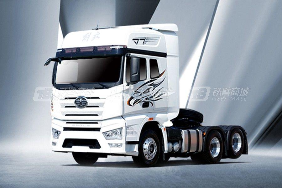 一汽解放J7 6×2R牵引车豪华型牵引车