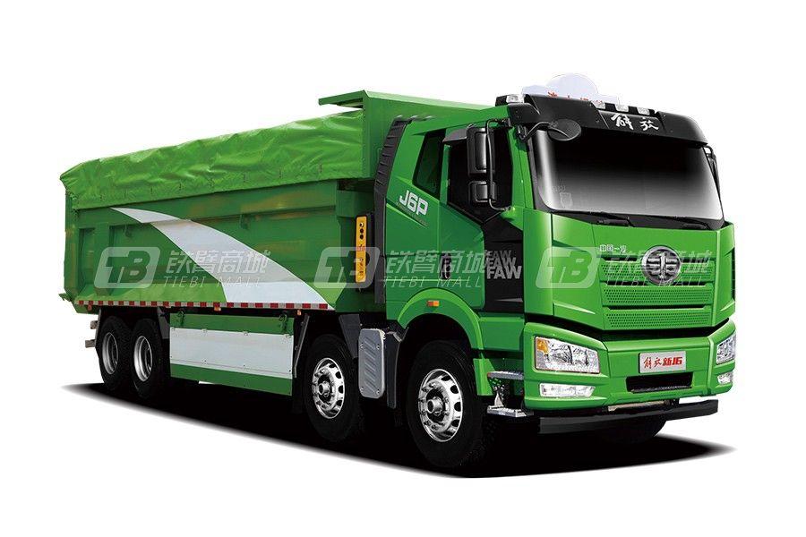 一汽解放J6p 6x4 舒适版渣土自卸自卸车