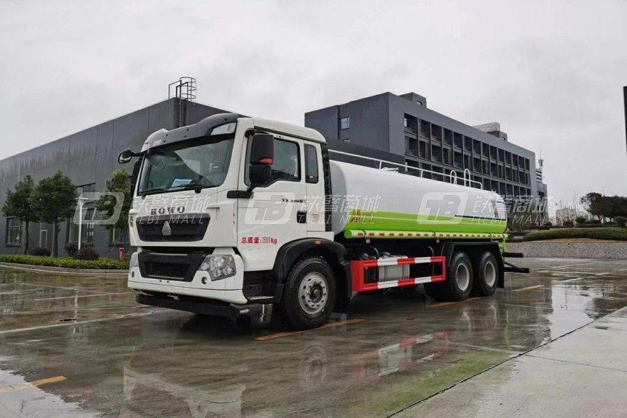 程力专汽CLW5250GPS6CS威牌绿化喷洒车