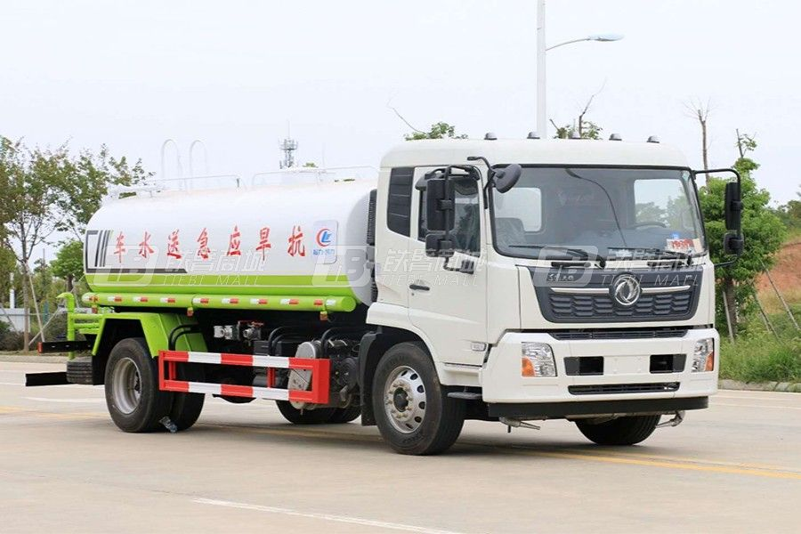 程力专汽CLW5180GPSE6【国六】东风天锦16方洒水车