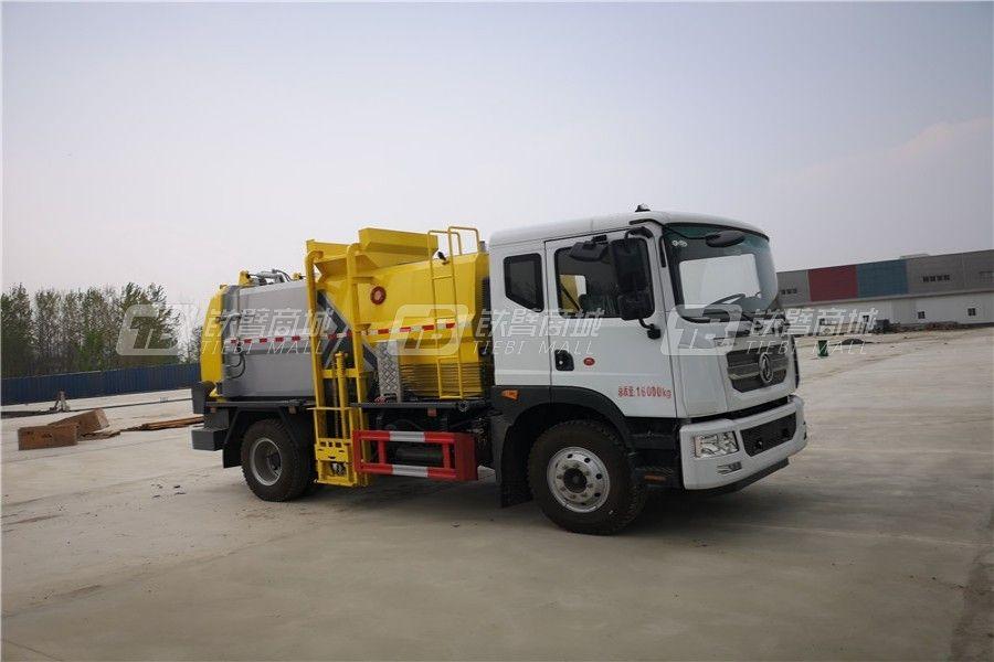 程力专汽CLW5120TCACF6东风D9国六天然气版餐厨垃圾车