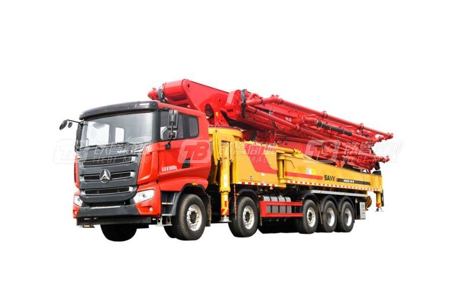 三一SYM5502THB 620C-10A混凝土泵车