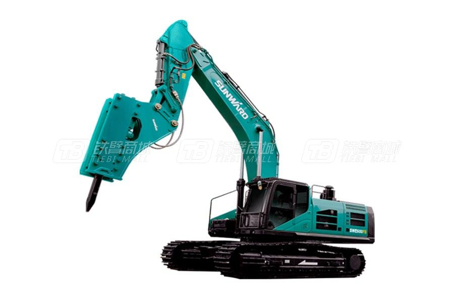 山河智能SWE600FB大型挖掘机