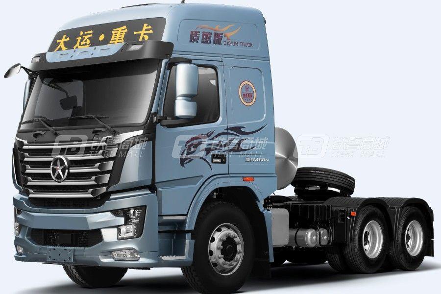 大运N8V质蕙3.0版 6x4 460马力LNG牵引车