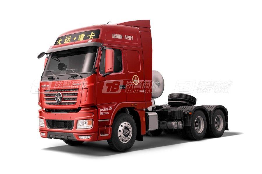 大运N9H远航2.0版 6x4 400马力LNG牵引车