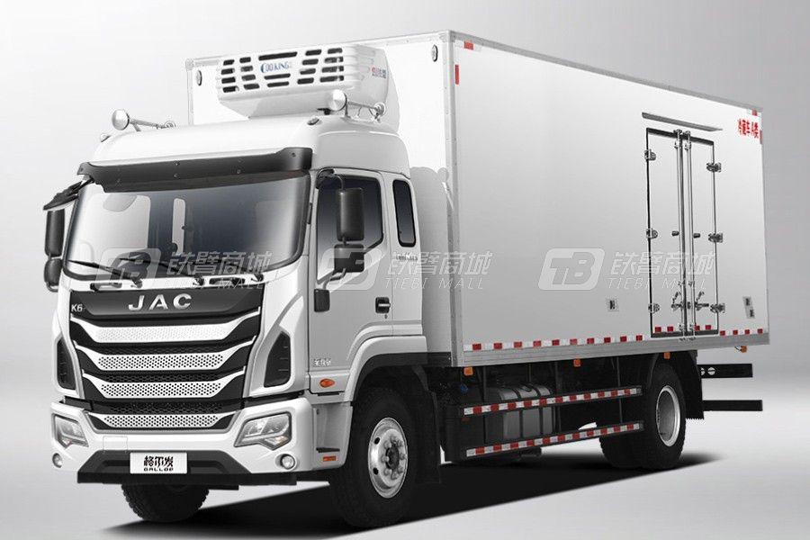 江汽集團格爾發K6L 4×2 220馬力冷藏車