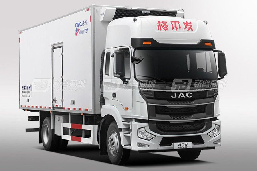 江汽集團格爾發A5IIIX 4×2 245馬力冷藏車