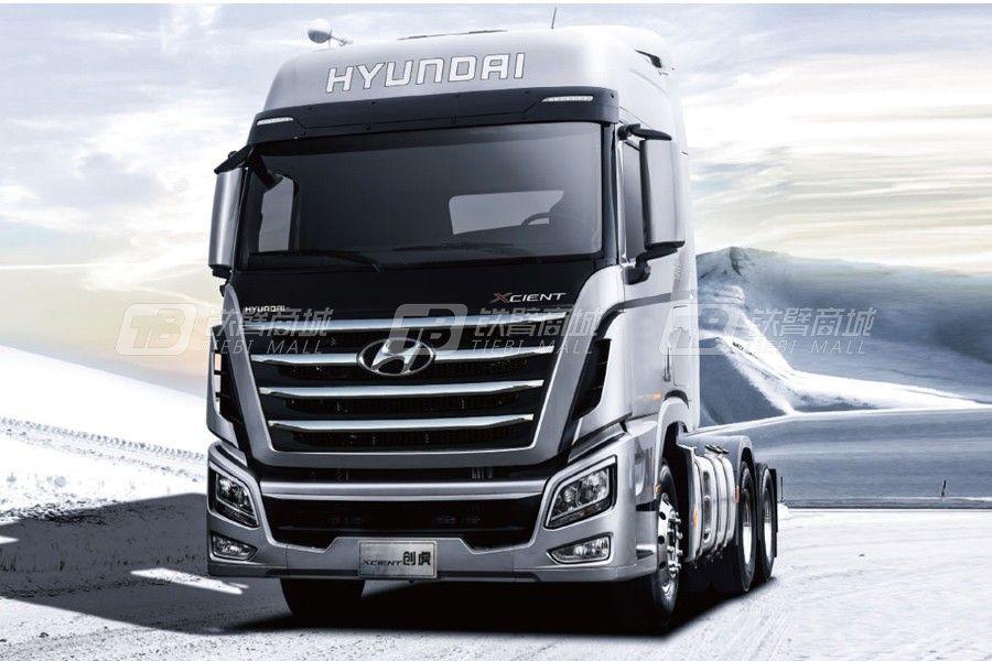 現代商用車創虎 6x4 440馬力 寒區版牽引車