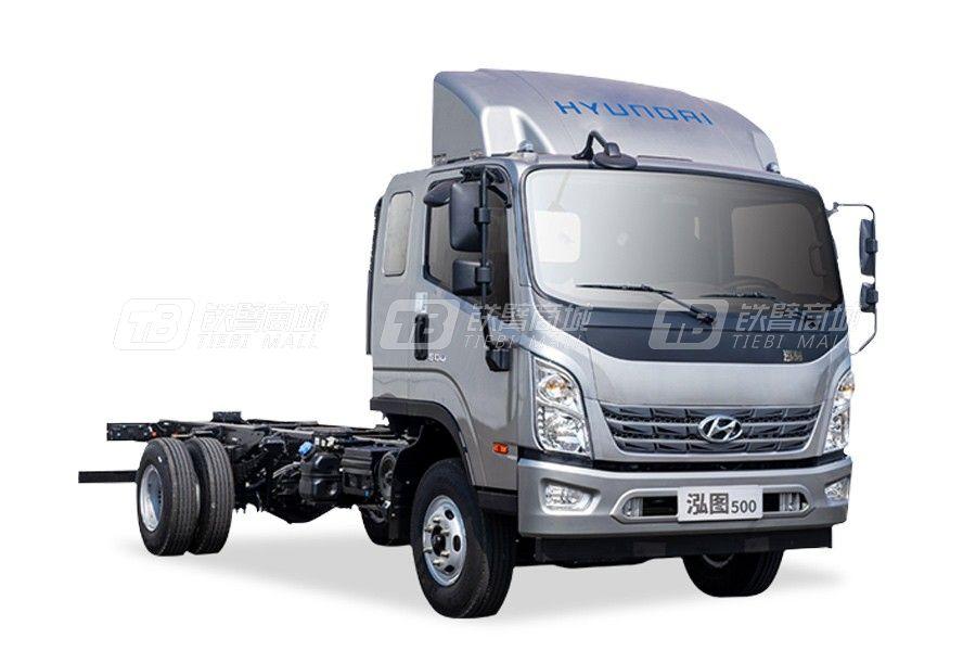 现代商用车泓图500 4x2 130马力轻型载货车