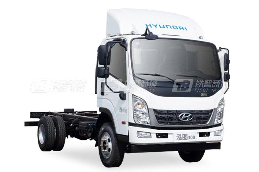 現代商用車泓圖300 4x2 150馬力輕型載貨車