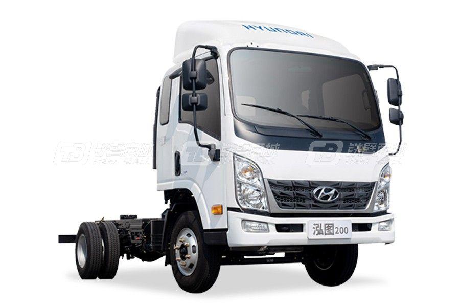 現代商用車泓圖200 4x2 88馬力輕型載貨車