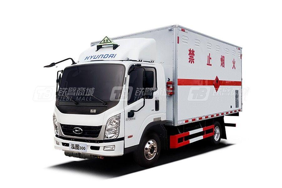 現代商用車泓圖300 4x2 140馬力 (CHM5041XRQZDC33T)危險品運輸車