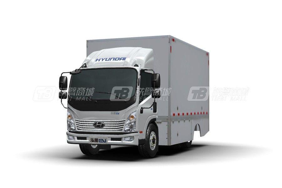 现代商用车泓图EV 4.5T 单排厢式电动轻卡