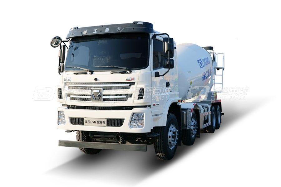 徐工G5 N系列8×4国五燃油混凝土搅拌运输车