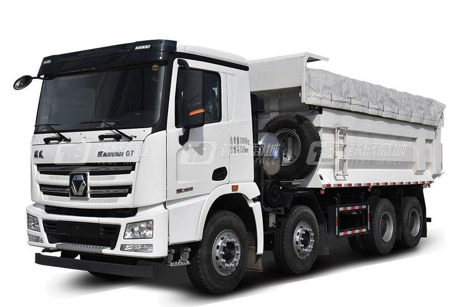 徐工G7系列 8×4 440马力LNG自卸式垃圾车