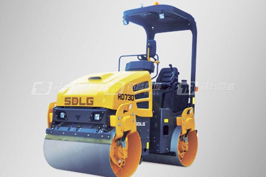 山东临工RD730轻型双钢轮压路机