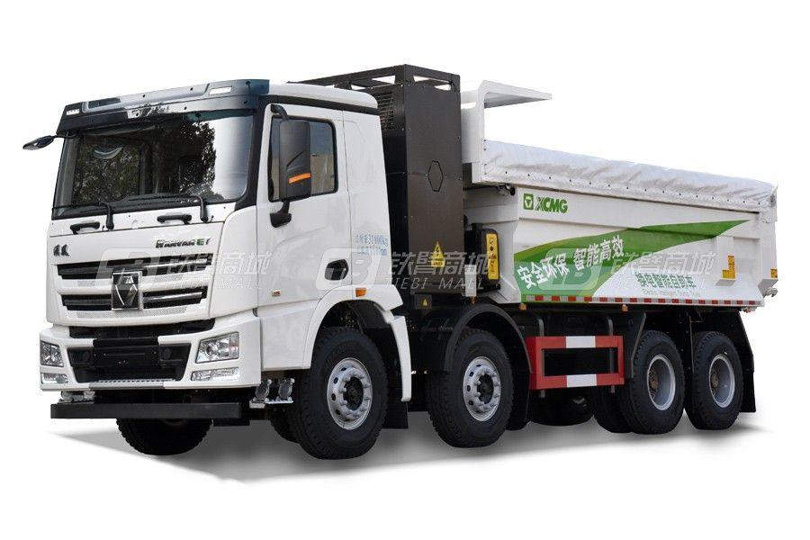 徐工E700 8×4 (XGA5317ZLJBEVWA)纯电动自卸式垃圾车(换电版)