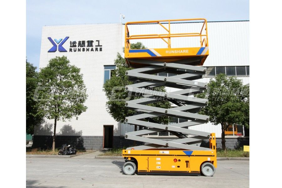 运想重工GTJZ14K自行走剪叉式高空作业平台