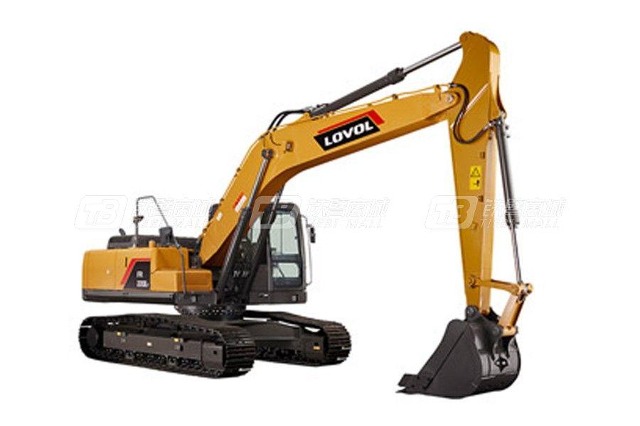 潍柴雷沃FR220E2履带挖掘机(高原机)