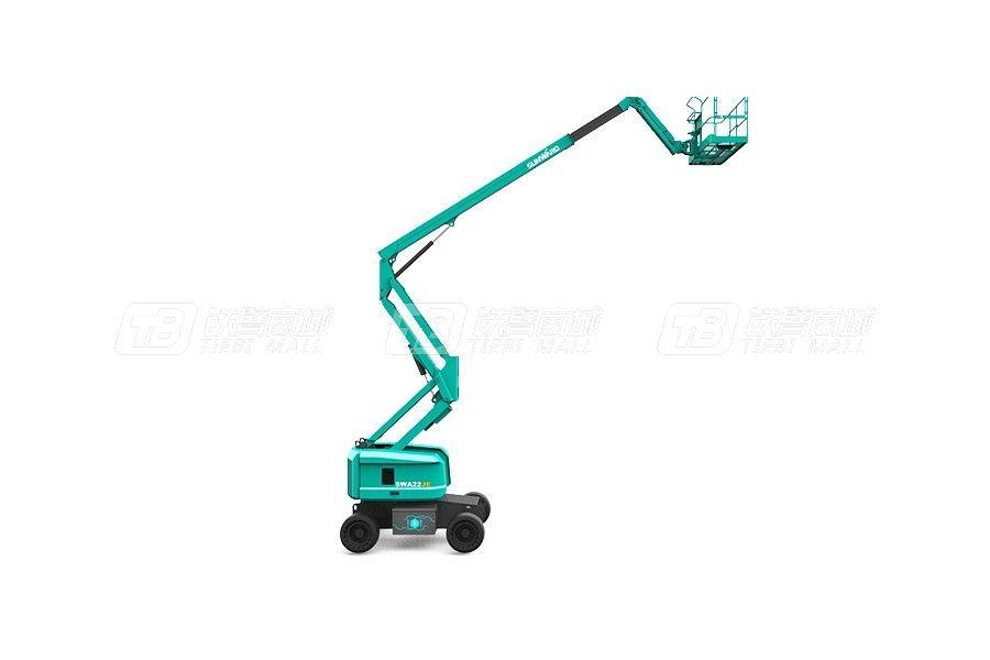 山河智能SWA22JE曲臂式高空作业平台