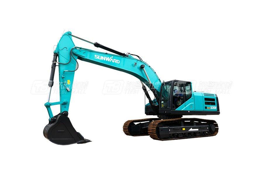 山河智能SWE335F履带挖掘机