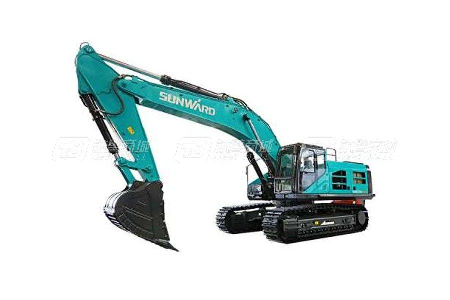 山河智能SWE550F-ED纯电动履带挖掘机