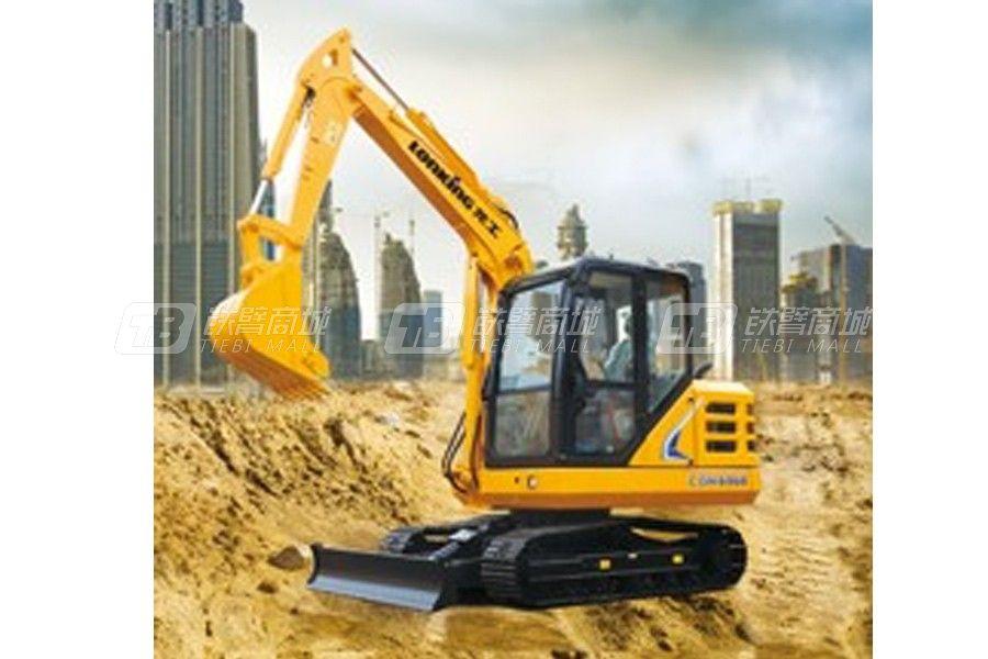 龙工CDM6060履带挖掘机