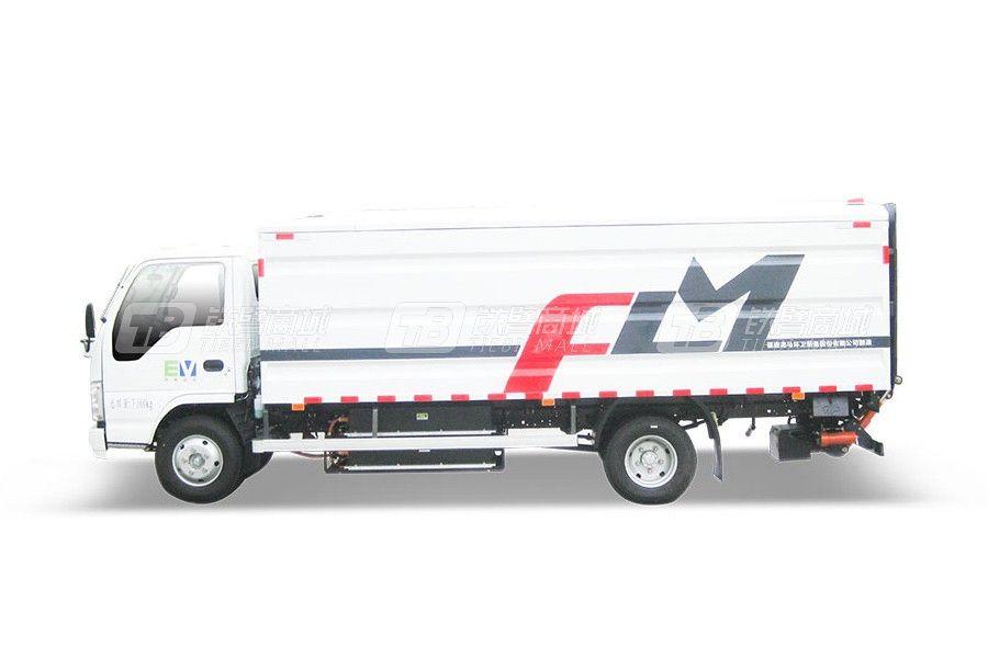 福龙马FLM5070XTYQLBEV纯电动桶装垃圾运输车
