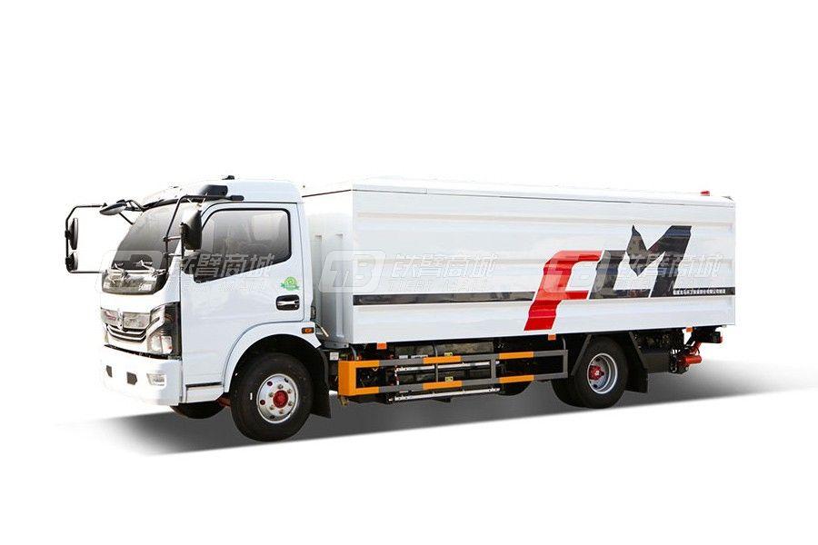福龙马FLM5080XTYDGBEV纯电动桶装垃圾运输车