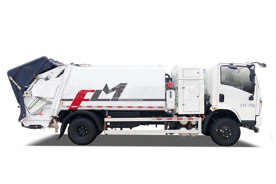 福龙马FLM5120ZYSDTBEV纯电动压缩式垃圾车