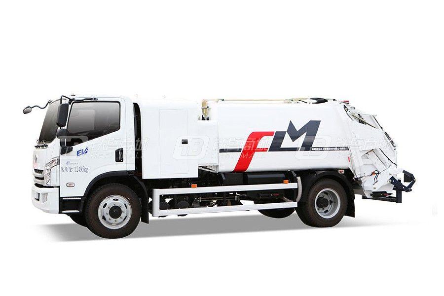 福龙马FLM5120ZYSNJBEV纯电动压缩式垃圾车