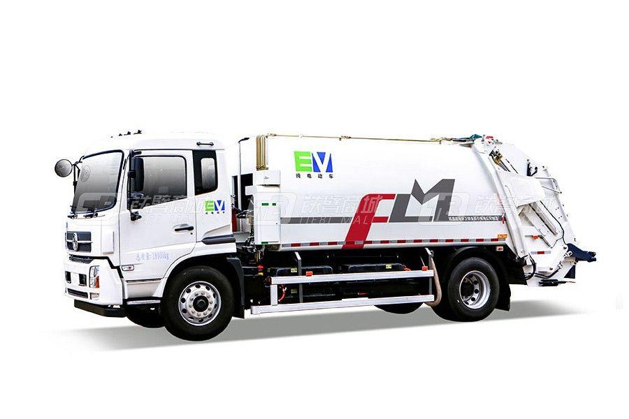 福龙马FLM5180ZYSDFBEVK纯电动压缩式垃圾车