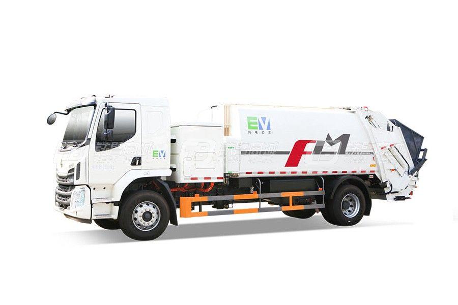 福龙马FLM5180ZYSDLBEVK纯电动压缩式垃圾车