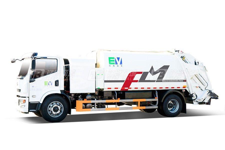 福龙马FLM5180ZYSNJBEVK纯电动压缩式垃圾车