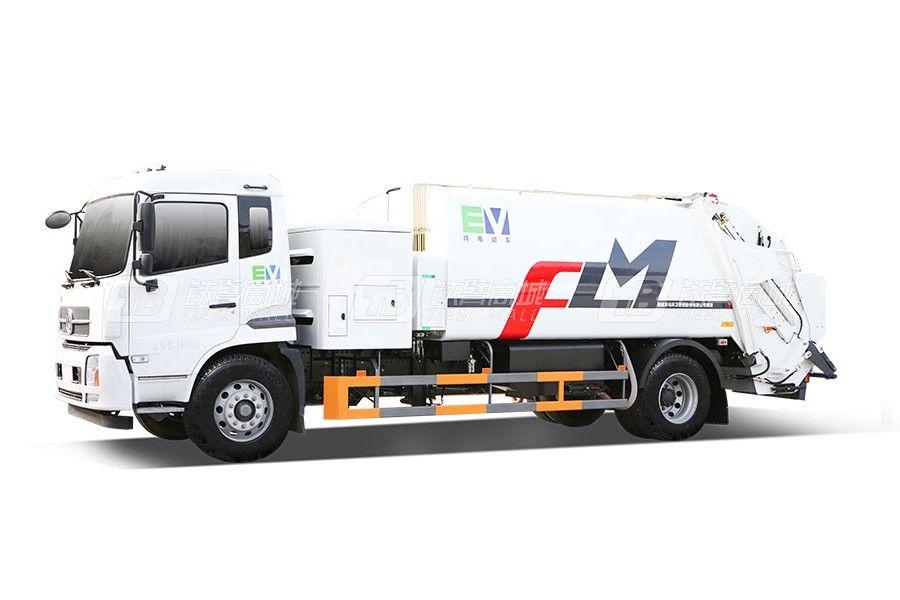 福龙马FLM5181ZYSDFBEVK纯电动压缩式垃圾车