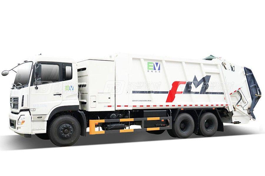 福龙马FLM5250ZYSDFBEV纯电动压缩式垃圾车