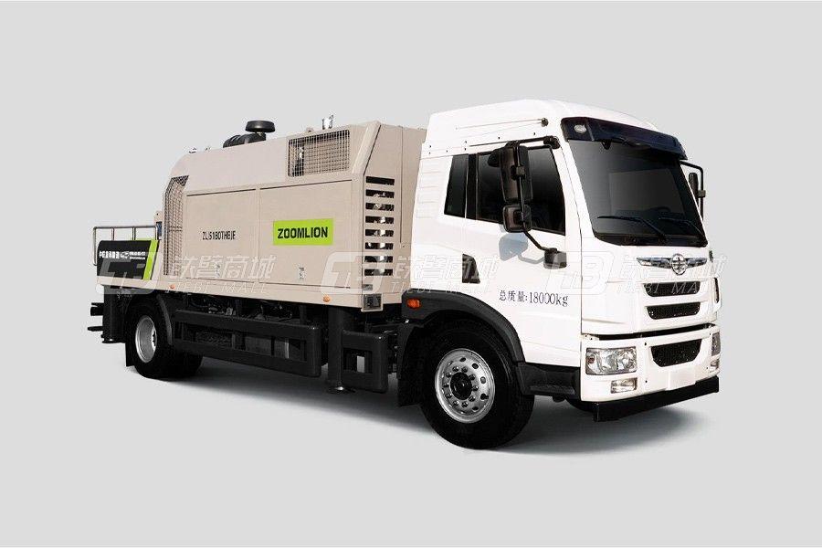 中联重科ZLJ5180THBJF-10528R28MPa解放国六车载泵