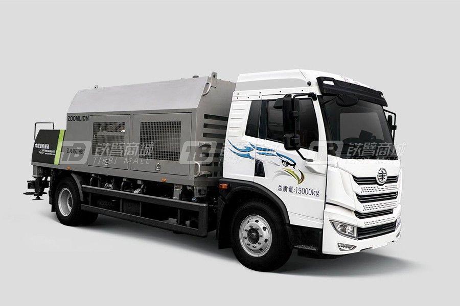 中联重科ZLJ5150THBJF-10026R26MPa 解放国六车载泵