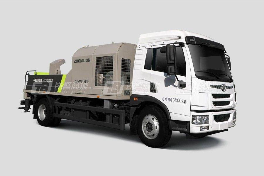 中联重科ZLJ5140THBJF-8016M16MPa解放国六车载泵