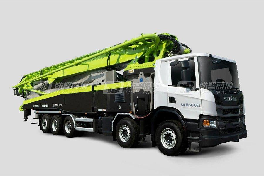 中联重科ZLJ5541THBSF 67X-6RZ五桥67M斯堪尼亚国六泵车