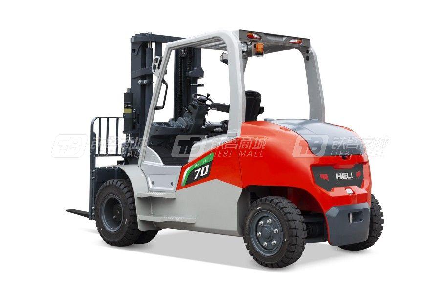 合力G3系列6-7t锂电池平衡重式叉车锂电池平衡重式叉车
