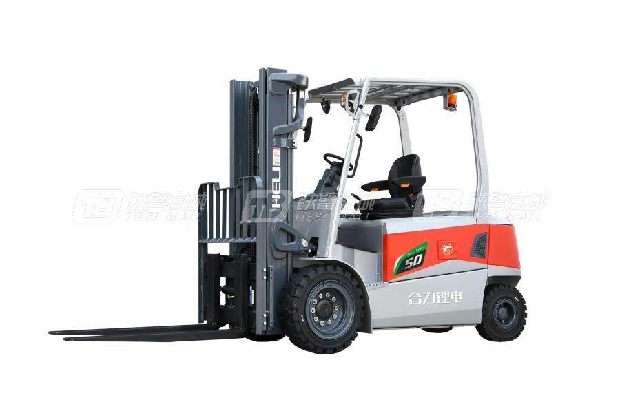 合力G3系列4-5吨锂电池平衡重式叉车电动叉车