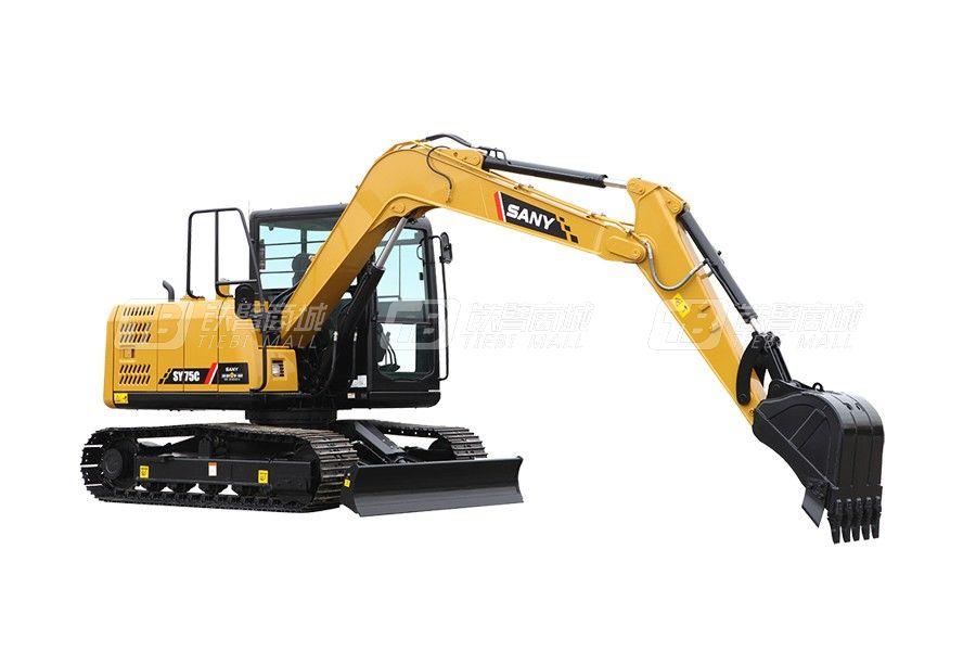 三一SY75C Pro小型挖掘机