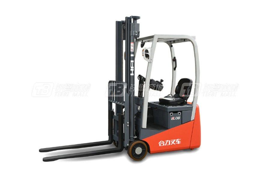 合力CPD12G系列1.2吨后驱三支点蓄电池平衡重式叉车