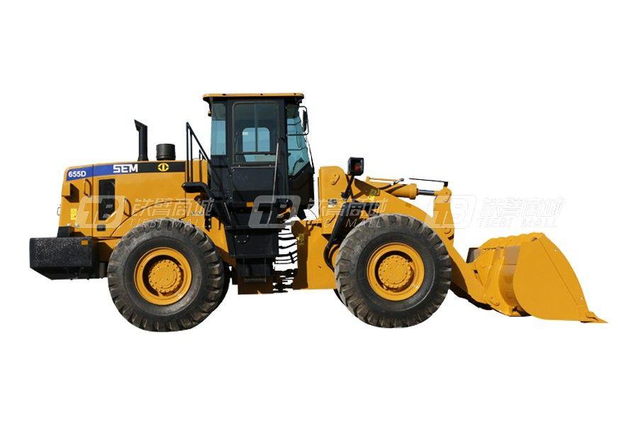 山工SEM655D轮式装载机