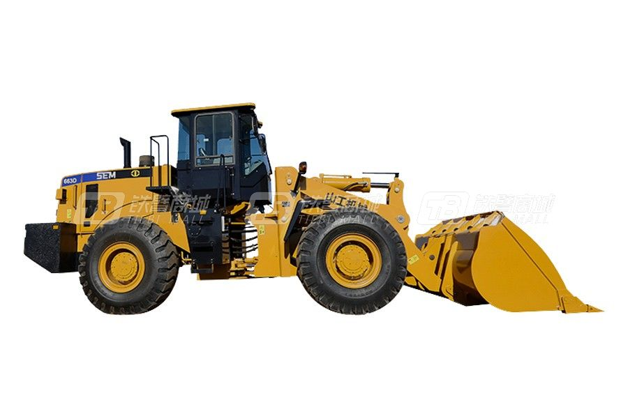 山工SEM663D轮式装载机