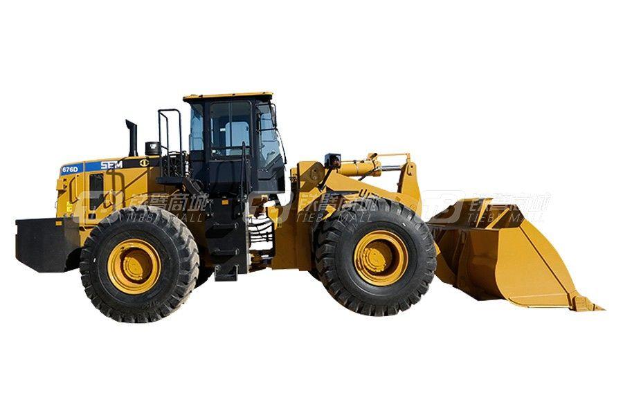 山工SEM676D轮式装载机